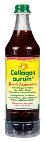 Vitalstoffgetränk und Cellagon aurum «Dunkle Sommerbeere» - Jedem Organ seine Nahrung