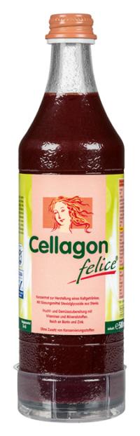 Vitalstoffgetränk Cellagon felice - Schönheitspflege von innen